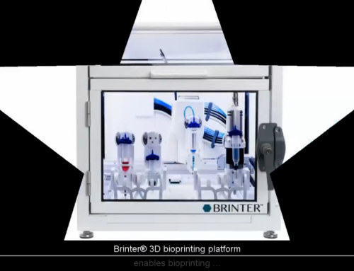 Brinter® 3D Bioprinting Platform Showcased in a Video
