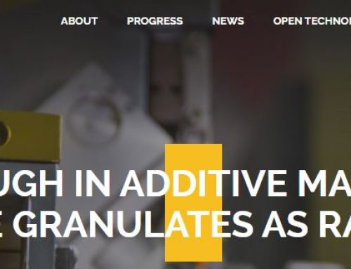 Breakthrough in Additive Manufacturing – Cellulose Granulates as Raw Material